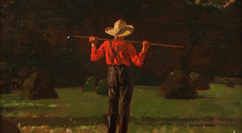 800px-Winslow_Homer_(American,_1836–1910),_Farmer_with_a_Pitchfork._Oil_on_board